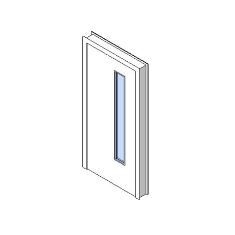 Internal Single Door, Vision Panel Style VP03