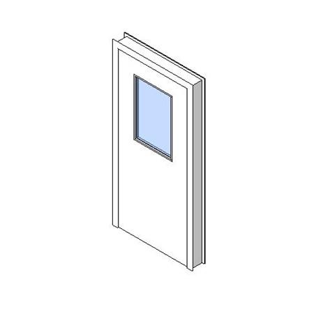 Internal Single Door, Vision Panel Style VP06