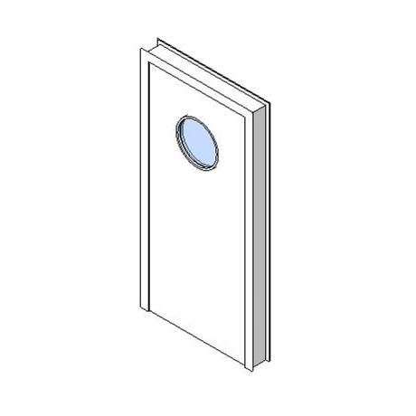Internal Single Door, Vision Panel Style VP07