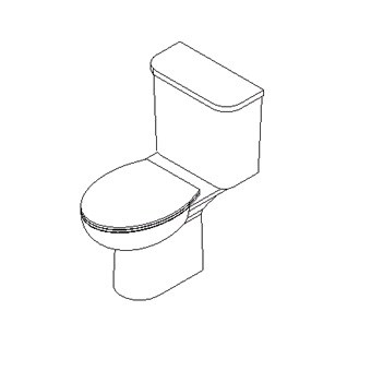 Close coupled WC