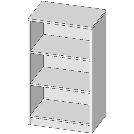 Half Height Shelving Unit