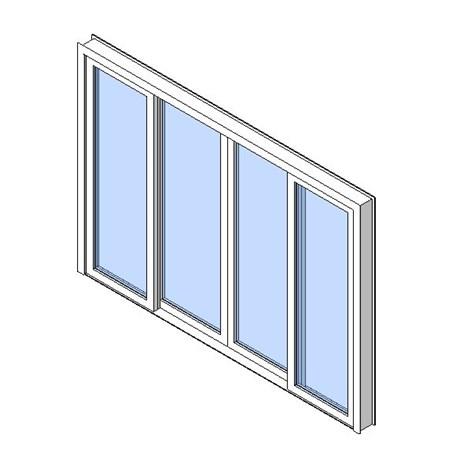 Exterior Sliding Double Door