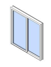 Exterior Sliding Single Door