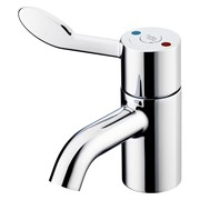 Contour 21+ 1 Hole Thermostatic Basin Mixer