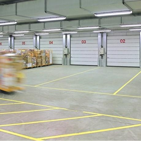 High-speed Sectional Door ISO Speed Cold