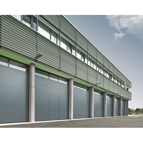 Sectional Door SPU 67 Thermo Wicket Door - Glazing Frames Track TypeV