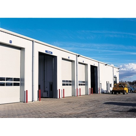 Sectional Door SPU 67 Thermo-Glazing Frames Track TypeN