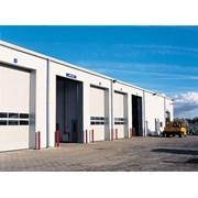 Sectional Door SPU F42 - Glazing Frames Track TypeN