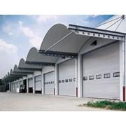 Sectional Door SPU F42 Wicket Door - Compound Glazing Track TypeN
