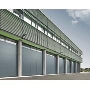 Sectional Door SPU F42 Wicket Door-Glazing Frames Track TypeV