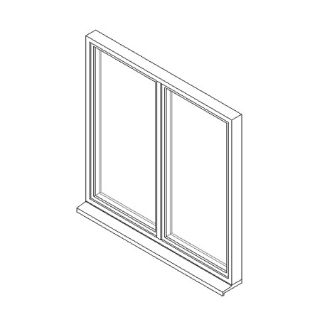 Double Window System with Tilt-Turn Opening Lights