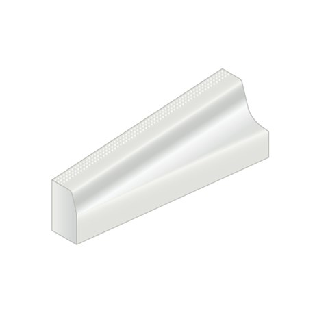 Kassel® Slimline Standard Kerb - 180 mm right hand
