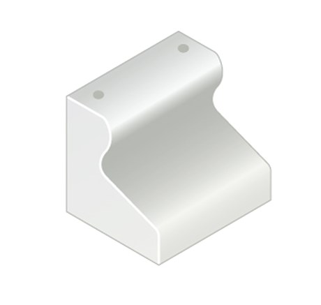 Trief® GST2 Half Kerb 455 mm with dowel holes
