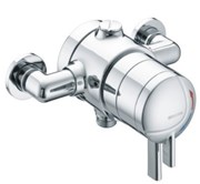 MEFC-PAK Exposed Timed Flow Control Shower with Fixed head