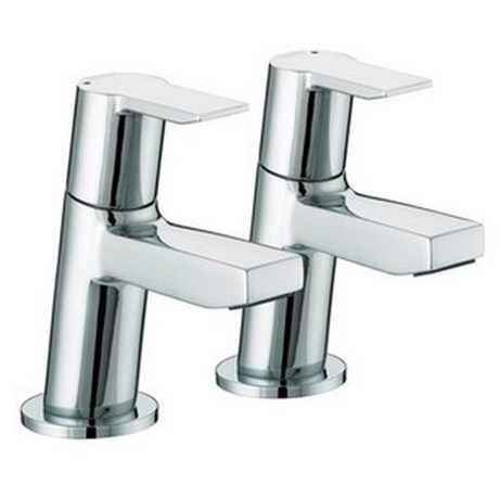 PS 1/2 C - Pisa Basin Taps Chrome