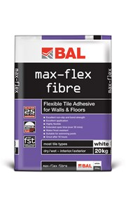 Max-Flex Fibre - Tile adhesive and grout