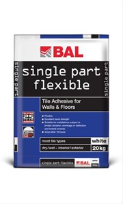 Single Part Flexible - Tile adhesive