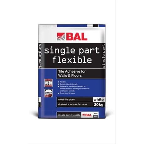 Single Part Flexible - Tile adhesive