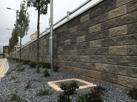 AB Three -Precast concrete interlocking blocks
