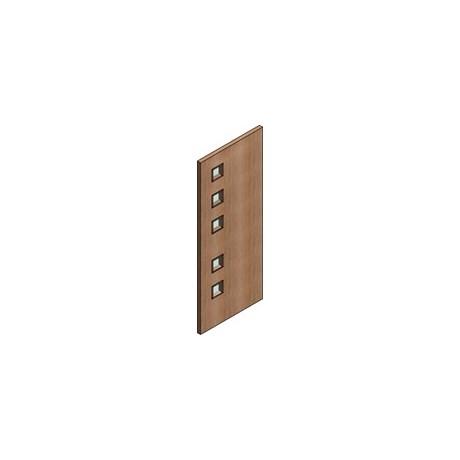 FD30 Single Door Flush Frame - Vision Panel 6