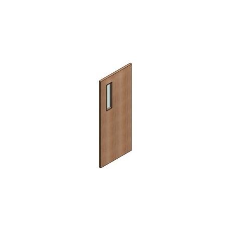 FD30 Double Door Flush Frame - Vision Panel 2