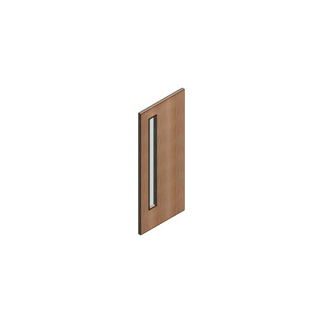 FD30 Double Door Flush Frame - Vision Panel 3