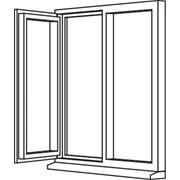 Heritage 2800 Casement - C12 Opener/Fixed
