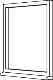 Traditional 2500 Casement - C1 Single Fixed