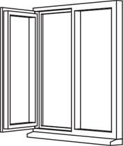 Traditional 2500 Casement - C12 Opener/Fixed