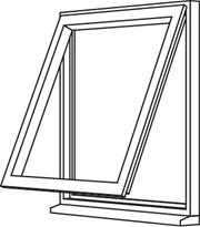 Traditional 2500 Casement - C3 Single Opener