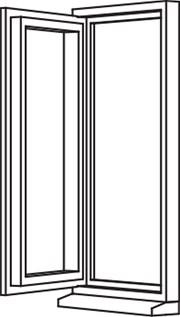 Traditional 2500 Casement - C4 Single Opener