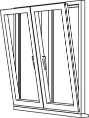 Traditional 2500 Tilt & Turn - TT3 Opener/Opener