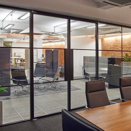 SG Edge Symmetry Door, Double Door Set, Non-Rebated - Internal doors