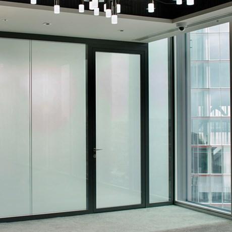 SG Edge Amity Door On Offset Pivots - Internal doors