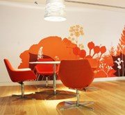 Digitally Printed Wall Covering - Hi-Tac Vinyl