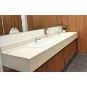 18 mm HPL Vanity Units - 600 mm Inset Type Top