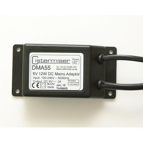 Direct Flush Discrete Mains Power Adapter