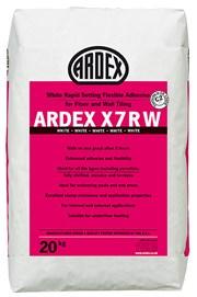 ARDEX X 7 R WRapid Setting Flexible Tile Adhesive - White