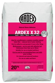 ARDEX X 32 Natural Stone Wall & Floor Tile Adhesive