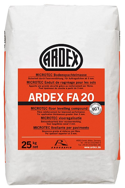 ARDEX FA 20Levelling and Smoothing Compound for Timber Floors