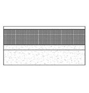 Flat mastic asphalt warm roof on beam and block deck