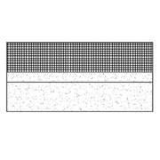 Flat single layer warm roof on precast hollow slab