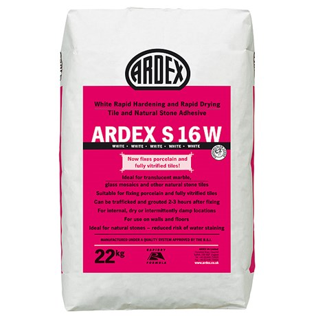 ARDEX S 16 WNatural Stone Floor & Wall Tile Adhesive