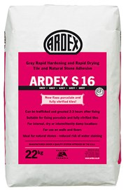ARDEX S 16 Natural Stone Floor & Wall Tile Adhesive