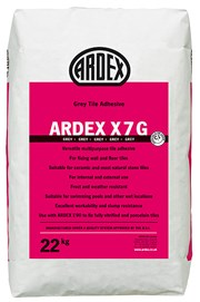 ARDEX X 7Standard Setting Flexible Tile Adhesive in Grey