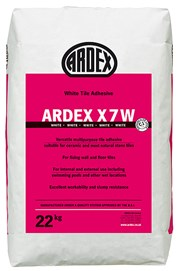 ARDEX X 7 Standard Setting Flexible Tile Adhesive in White