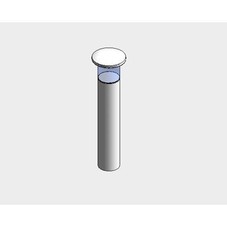 Steel lighting bollards - surface mounted