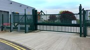 Terra Sliding Cantilevered Gate