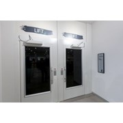 Aritco 9000 Cabin Lift - Same Side Entry and Exit Doors on Narrow Side