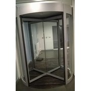 GyroSec FW Motorized Security Revolving Door - Semi-external, 4 wings